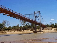 Điểm Du Lịch Kon Tum: Cầu Treo Kon Klor