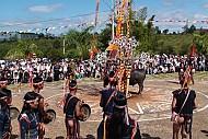 Lễ trồng cột - Người Tày
