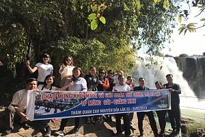 VTN12. Tour du lịch 1 ngày khám phá thác Draynur - Hồ Lắk