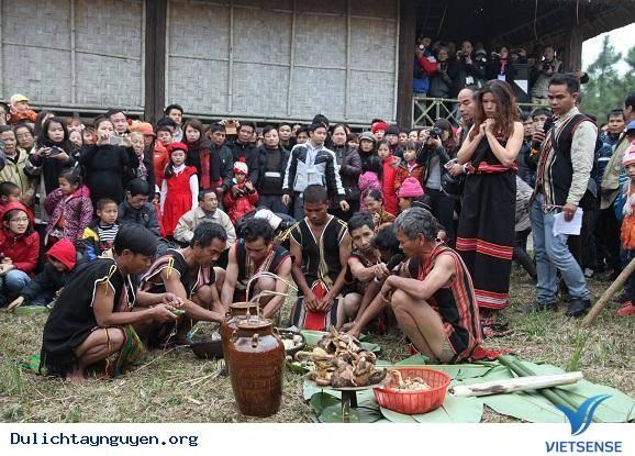 Lễ cúng trỉa lúa của dân tộc Brâu,le cung tria lua cua dan toc brau