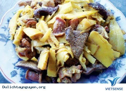 Vêch, món ngon của ẩm thực Tây Nguyên